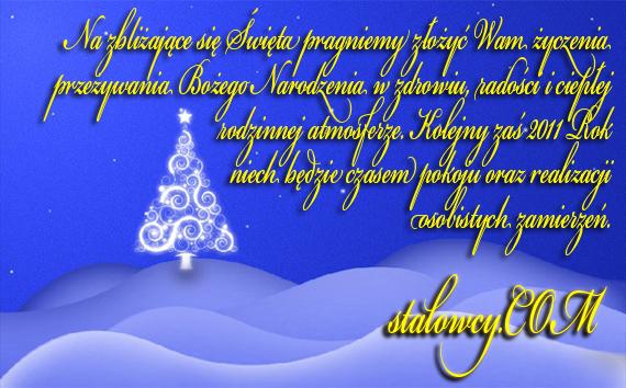 Życzenia Świąteczne 2010