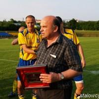 Wiesław Olchawski - świętowanie awansu do II ligi