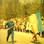 Tak paradowała Stal Poniatowa 38 lat temu [Film]