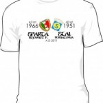 Jubileuszowe koszulki łączone Stal – Sparta