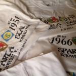 Jubileuszowe koszulki Sparta-Stal