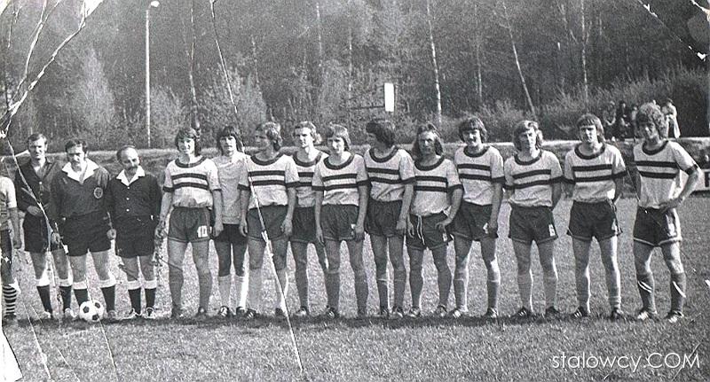 Kadra młodzików Stali Poniatowa (rok. 1972)