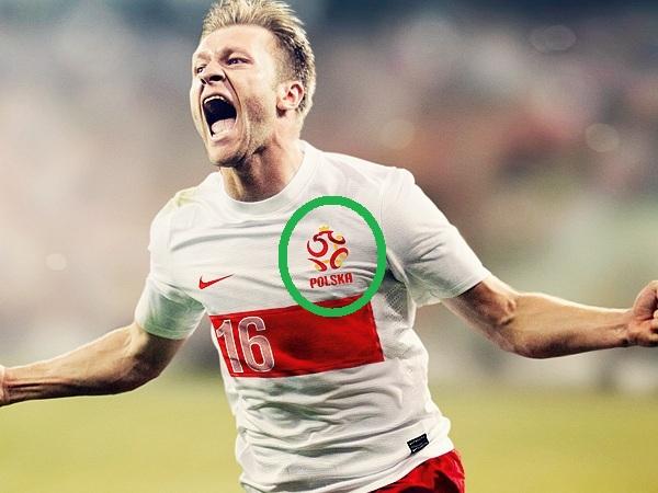 Nowe koszulki reprezentacji Polski bez Orzełka