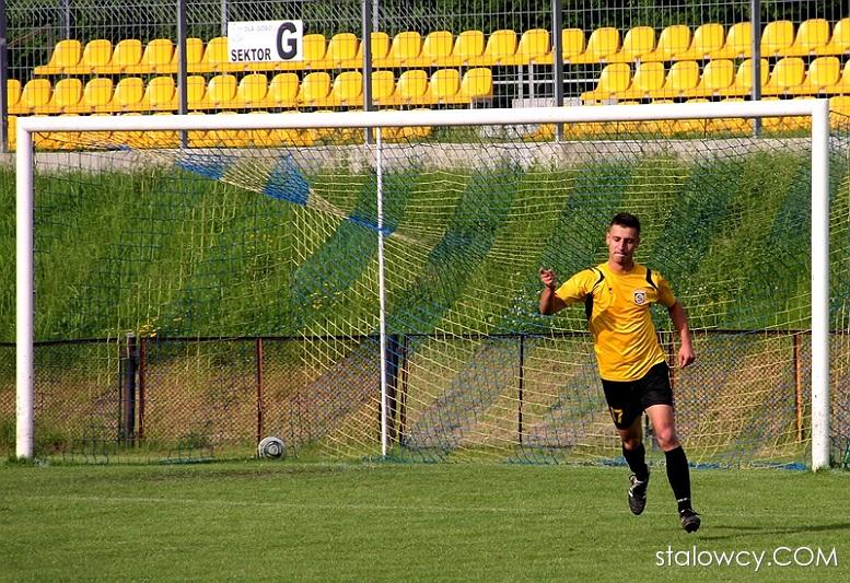 Ostatni gol Jarosława Wyroślaka w barwach Stali